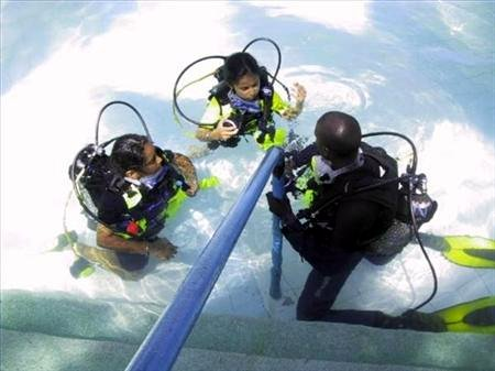 "Peponi ""Kids"" Fun Diver course"